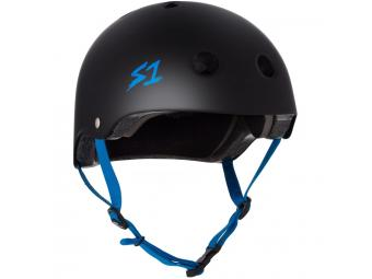 Casque S-ONE Lifer Noir Mat / Bleu