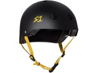 Casque S-ONE Lifer Noir Mat / Yellow